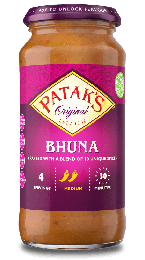 Patak's Bhuna Curry Sauce 450g