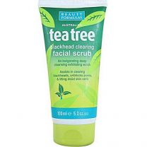 Beauty Formulas Tea Tree Blackhead Clearing Facial Scrub - 150ml