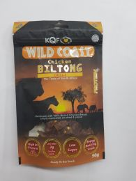 KQF Biltong Chicken Chilli 50g
