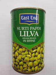 East End Surti Papdi Lilva Indian Beans in Brine 400g