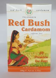 Palanquin Red Bush Cardamom Tea (40 Teabags)