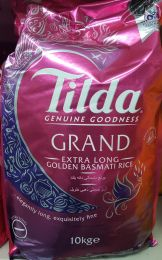 Tilda Extra Long Grain Golden Basmati Rice 10kg