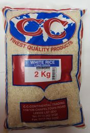 CC White Long Grain Rice 2kg