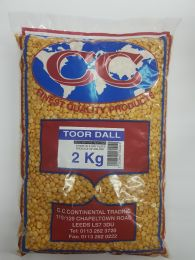CC Toor Dall Dry (2kg)