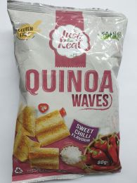 Just Real Quinoa Waves Sweet Chilli Flavour 80g