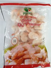 Priyo Cooked King Prawns 400g - Frozen