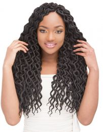 """Janet Collection 2 X Mambo Natural Coily Locs 18"""""""
