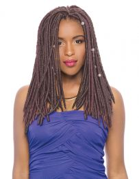 """Janet Collection 2 X Mambo Faux Locs 14"""""""
