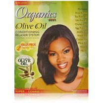 Africa's Best Organics Olive Oil Conditioning No Lye Relaxer System - 2 Pack