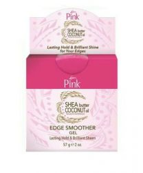 Lusters Pink Shea Butter Coconut Oil Edge Smoother Gel 57 g