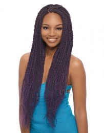 Janet Collection 3 X Caribbean Afro Twist Braid