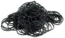 Magic Collection 60x9mm Rubber Bands - Black