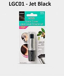 Kiss Colours Quick Cover Gray Hair Touch Up - Jet Black