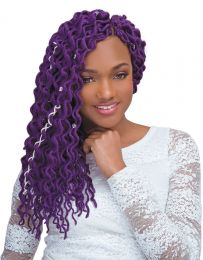 """Janet Collection 2 X Mambo Coily Dense Loc 18"""""""