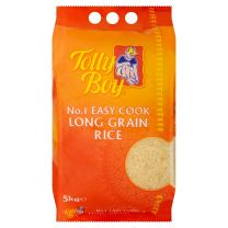 Tolly Boy Easy Cook Long Grain Rice 5kg