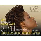 Luster's Shortlooks ColorLaxer 3in1 Sable Brown