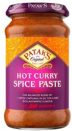 Patak's Hot Curry Spice Paste 283g