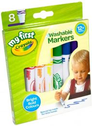 My First Crayola Washable Markers, Pack of 8