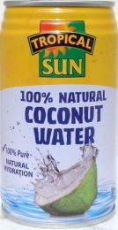 TROPICAL SUN COCONUT WATER NATURAL330ML