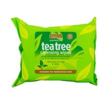 Beauty Formulas Tea Tree Cleansing Facial Wipes