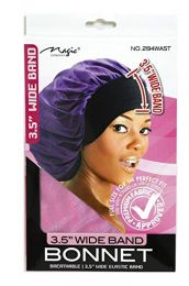 """Magic Collection 21"""" X Large Wide Band Bonnet - 2194AST"""