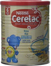 Nestlé CERELAC Rice with Milk Infant Cereal 400g 1 year+
