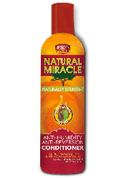 African Pride Natural Miracle Anti-Humidity Anti-Reversion Conditioner - 12 Oz