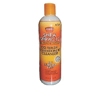 African Pride Shea Miracle Co-Wash Conditioning Cleanser - 12 Oz