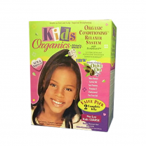 Africa's Best Kids Organics Natural Conditioning Relaxer System No-Lye Kids Coarse (2 Applications)