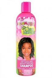 African Pride Dream Kids Olive Moisturizing Shampoo 12Oz
