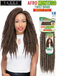 Janet Collection 2 X Afro Montego Twist Braid 18""