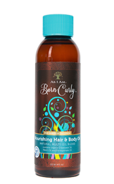 AS I AM Born Curly Nourishing  Hair & Body Oil