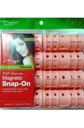 "Magic Collection Magnetic Snap-On 1 1/4"" (8 Pack) - #124XL"