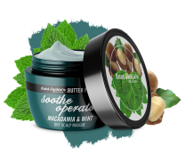 Aunt Jackie's Butter Fusions Macadamia & Mint Dry Scalp Masque (240ml)
