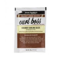 Aunt Jackie's Coconut Creme Recipes Curl Boss Coconut Curling Gelee - 1.75 Oz