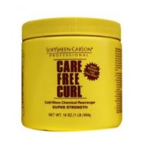 Care Free Curl Cold Wave Chemical Rearranger Super Strength - 14.1 Oz