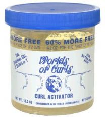 Worlds Of Curls Curl Activator for Extra Dry Hair 400ml