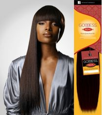 Sensationnel Remi Goddess Yaki Wvg 100% Human Hair Extensions 113g