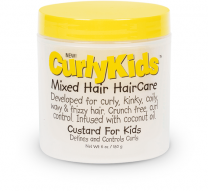 Curly Kids Mixed Hair HairCare Custard For Kids - 6 Oz