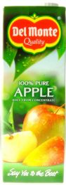 Del Monte Pure Apple Juice 1Litre