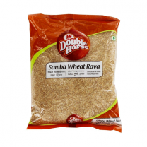 Double Horse Samba Wheat Rava 1Kg
