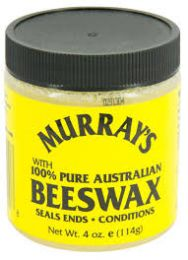 Murray's 100% Pure Australian Black Beeswax - 4 Oz