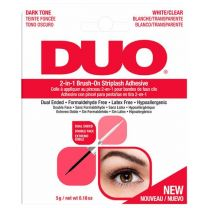 Ardell Duo 2in1 Brush On Strip Lash Adhesive Clear & Dark - 5g