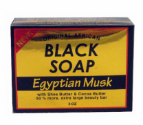 Sunflower Black Soap Egyptian Musk - 5oz