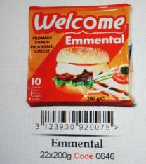 Welcome Emmental Cheese 200g