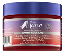 The Mane Choice Exotic Cool-Laid Luscious Lychee & Dragon Fruit Definition of Definition GEL-LO - 12oz
