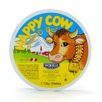 Happy Cow Cheese Round (8 Portion) 120g