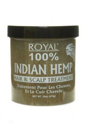 Royal 100% Indian Hemp Hair and Scalp Treatment 473g