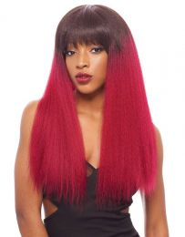 Janet Collection Human Hair Blend Lace Front Wig Brazilian Scent - HARPER