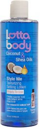 Lotta Body with Coconut & Shea Oils Style Me Texturizing Setting Lotion - 12 Oz